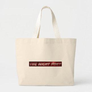 The Night Poet Beach Bag
