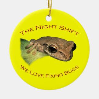 The Night Shift Christmas Ornament