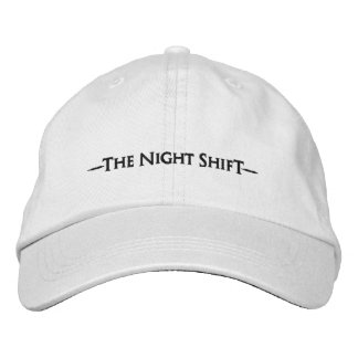 """The Night Shift""  Embroidered Hat"