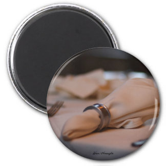The Night to Cherish 6 Cm Round Magnet