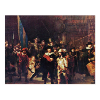 The Night Watch By Rembrandt Harmensz. Van Rijn Post Card