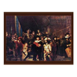 The Night Watch By Rembrandt Harmensz. Van Rijn Postcards