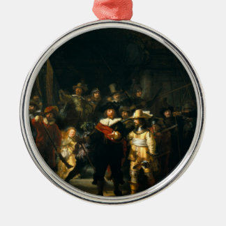 The Night Watch - Rembrandt Christmas Ornament