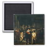 The Night Watch - Rembrandt Refrigerator Magnet