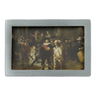 The Night Watch, Rembrandt van Rijn Belt Buckles