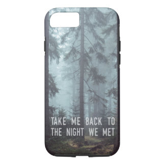 The Night We Met iPhone 8/7 Case