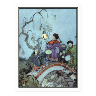 The Nightingale by Edmund Dulac Postcard