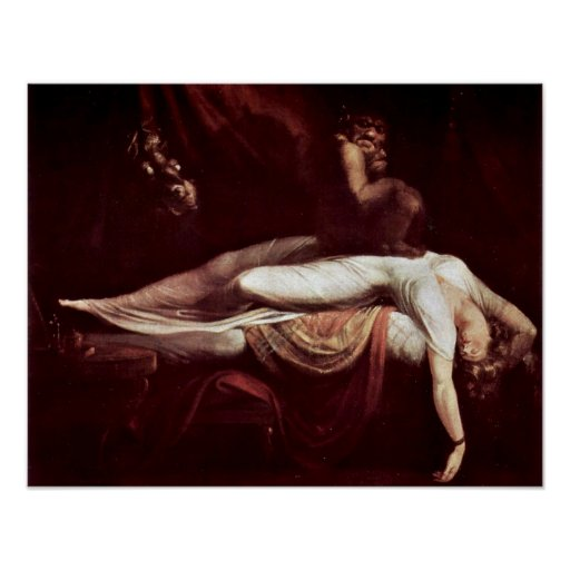 The Nightmare by Henry Fuseli Posters