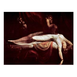 The Nightmare,  By Johann Heinrich Füssli (Best Qu Postcard
