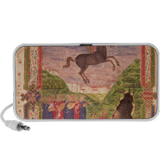 The nine Muses playing instruments Laptop Speaker