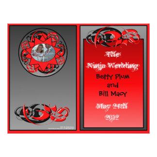 The Ninja Wedding Program Full Color Flyer