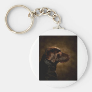 The Noble Lab Basic Round Button Key Ring