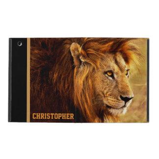 The Noble Lion Photograph iPad Folio Cover
