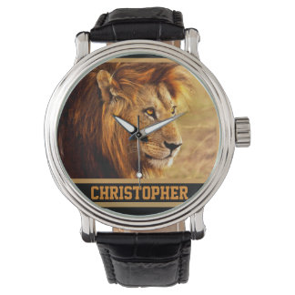 The Noble Lion Photograph Watch