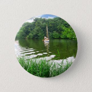 The Norfolk Broads 6 Cm Round Badge