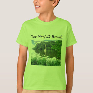 The Norfolk Broads Shirts