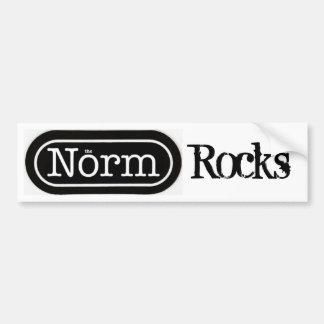 The Norm Rocks Bumper Sticker