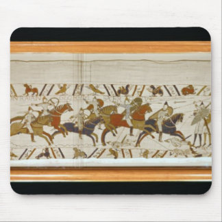 The Norman cavalry attacks the English Mouse Pad