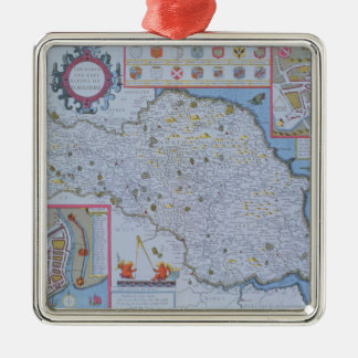 The North and East Ridings of Yorkshire Christmas Ornament