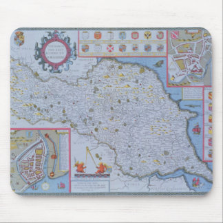 The North and East Ridings of Yorkshire Mouse Mat