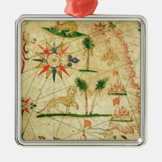 The North Coast of Africa Christmas Ornament
