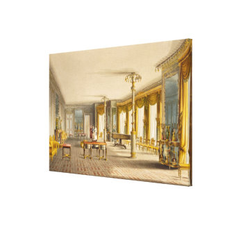 The North Drawing Room, or Music Room Gallery from Canvas Print