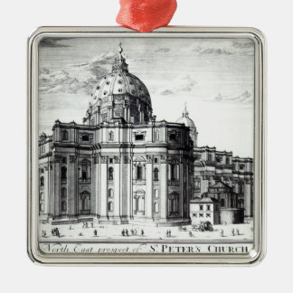 The north east prospect of St. Peter's Church Christmas Ornament