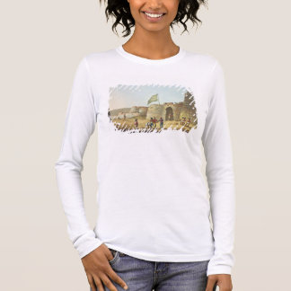 The North Entrance into the Fort of Bangalore, pla Long Sleeve T-Shirt