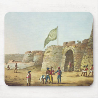 The North Entrance into the Fort of Bangalore, pla Mouse Pad