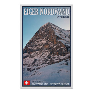 The North Face of the Eiger Poster