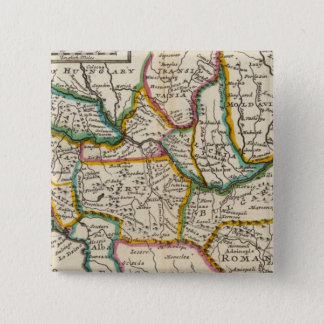 The north part of Turkey in Europe 15 Cm Square Badge