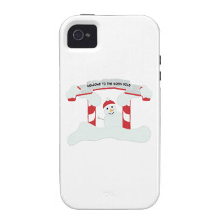 The North Pole iPhone 4/4S Cover