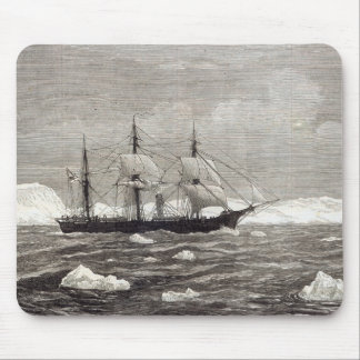 The North Pole Expedition Mouse Mat