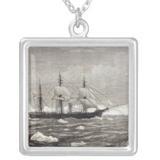 The North Pole Expedition Silver Plated Necklace