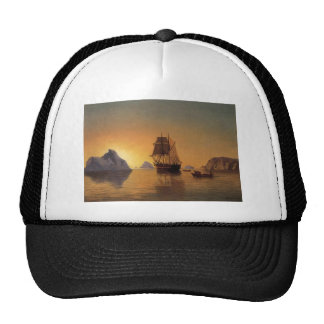 The North Pole scenery Mesh Hats