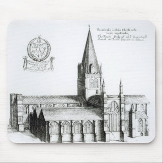 The North Prospect of Conuentuall Mouse Mat