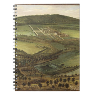 The North Prospect of Hampton Court, c.1699 (oil o Spiral Note Book