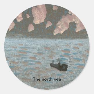The north sea Sticker