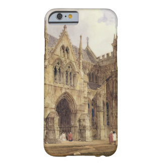 The North-West Porch of Salisbury Cathedral, 1832 Barely There iPhone 6 Case