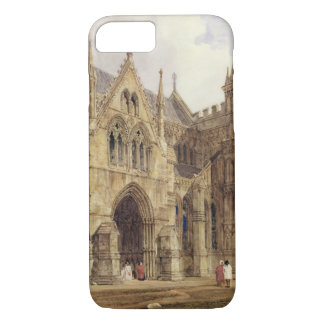 The North-West Porch of Salisbury Cathedral, 1832 iPhone 8/7 Case