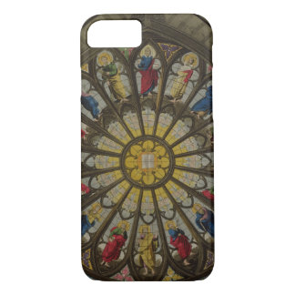 The North Window, plate D from 'Westminster Abbey' iPhone 8/7 Case