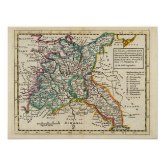 The Northeast part of Germany Print