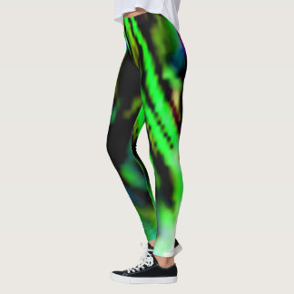 The Northern Lights Of Hope Leggings