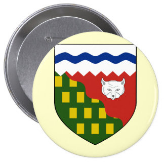 the Northwest Territories, Canada Pinback Button