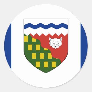 the Northwest Territories, Canada Round Sticker