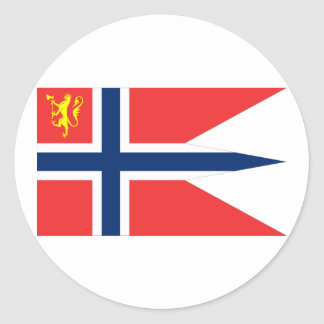 the Norwegian Chief Defence, Norway Classic Round Sticker