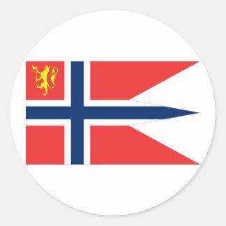 the Norwegian Chief Defence, Norway Round Sticker