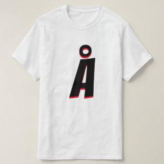 The Norwegian Letter Å T-Shirt