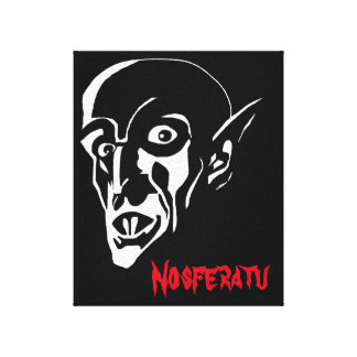 The Nosferatu Vampire Canvas Print