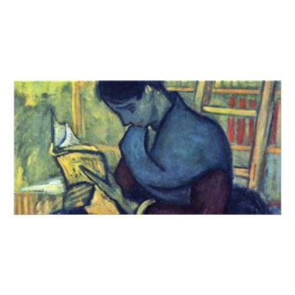 The Novel Reader By Vincent Van Gogh Photo Cards